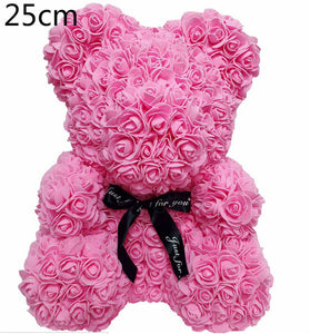 Flower Rose Bear - SHOPPLEHUB