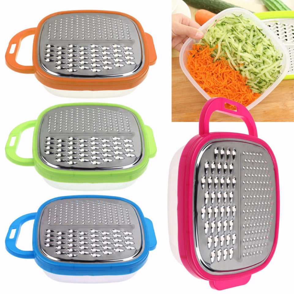 Food Grater With Container - SHOPPLEHUB