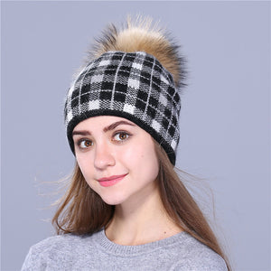 Faux Fur Winter Beanie - SHOPPLEHUB