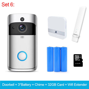 Smart Wireless Wifi Video Doorbell Intercom - SHOPPLEHUB