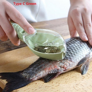 Fish Scales Cleaning Tool with Cover - SHOPPLEHUB