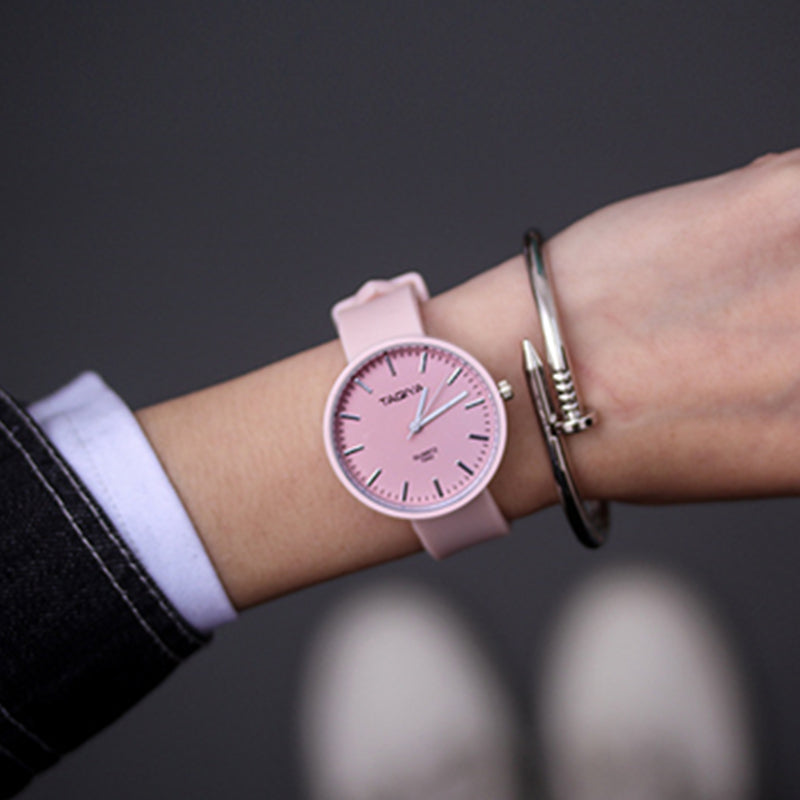 Casual Candy Color Watch - SHOPPLEHUB