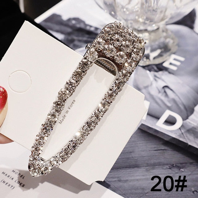 Crystal Pearl Hairpins - SHOPPLEHUB