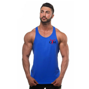 Men's Sleeveless Fitness Vest - SHOPPLEHUB