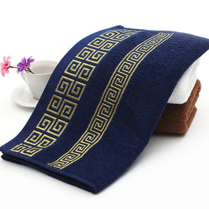 100% Cotton Embroidered Towel Set - SHOPPLEHUB