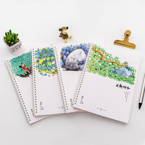 Multicolor Hard Cover Note Pads - SHOPPLEHUB
