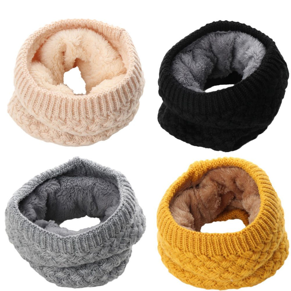 Knitted Winter Neck Warmer - SHOPPLEHUB