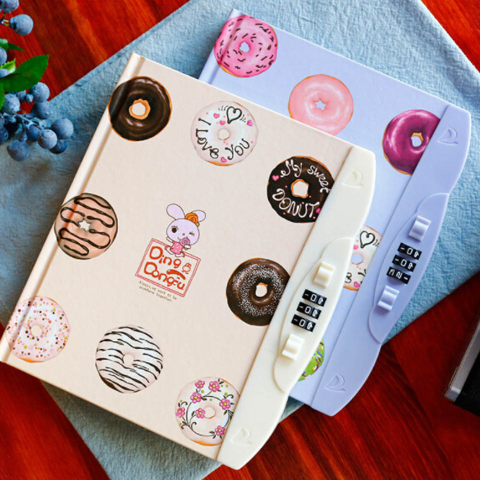 Children's Creative Hardcover Notebook With Lock - SHOPPLEHUB