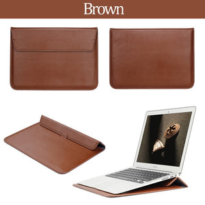 Leather Sleeve Laptop Case - SHOPPLEHUB