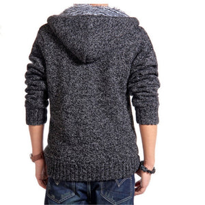 Faux Fur Knitted Sweater - SHOPPLEHUB