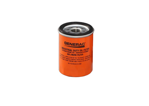 Generac Oil Filter Generator 070185E and 070185E Extended Life Oil Filter