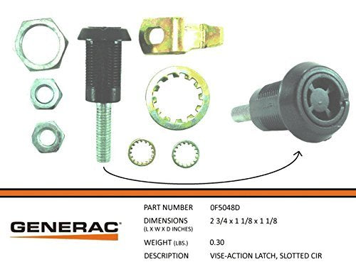 Generac - VISE-ACTION LATCH: SLOTTED CIR