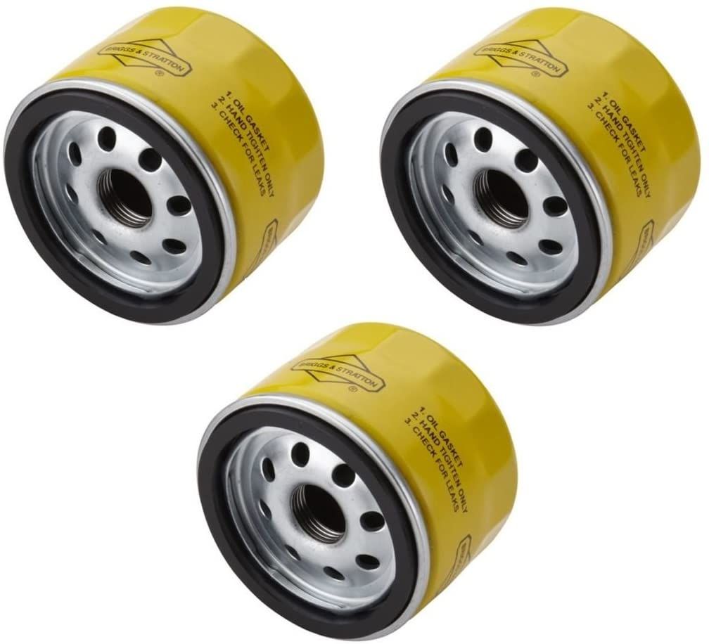 Briggs & Stratton 696854 Oil Filter Fit For 79589, 92134GS, and 695396 (Pack 03)