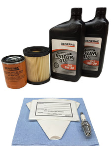 Generac 0J57640SSM 8kW Service Maintenance Kit with Synthetic Oil By UGP