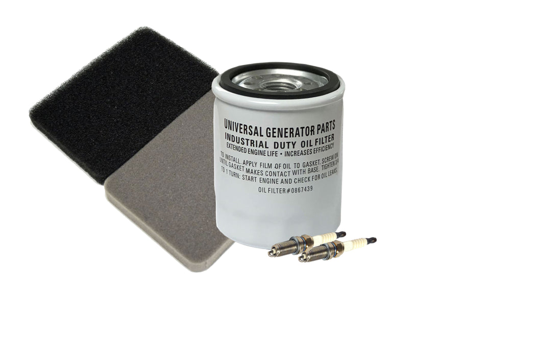 Generac Oil Filter and Spark Plug