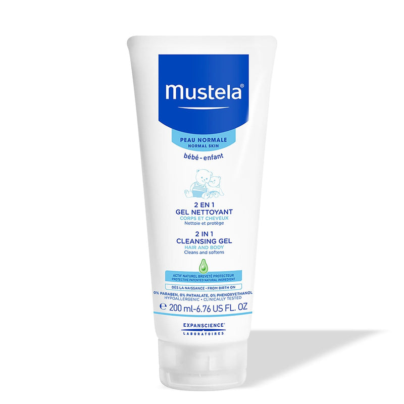 Mustela 2-in-1 Cleansing Gel for Hair and Body