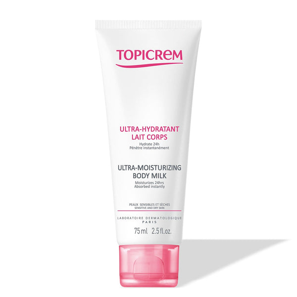 Topicrem Ultra - Moisturizing Body Milk 75 ml