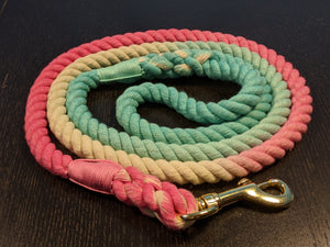 Cotton Candy Dreams - Rope Leash