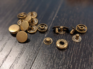 Add-On: Premium Metal Snap-On Buttons
