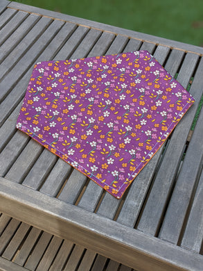 *PRE-ORDER* Plum Blossom Fall - Bandana Half (Must Purchase Any Two Patterns)