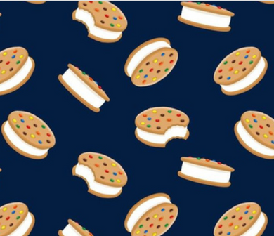 Cookie Ice Cream Sandwiches - Bandana Half (Must Purchase Any Two Patterns)
