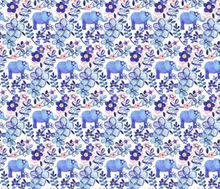 Load image into Gallery viewer, Elephants on Parade inspired by Finn - Bandana Half (Must Purchase Any Two Patterns)