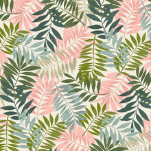 Load image into Gallery viewer, Fern Leaves - Bandana Half (Must Purchase Any Two Patterns)