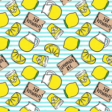 Load image into Gallery viewer, Lemonade Stand - Pre-Designed Full Reversible Bandana