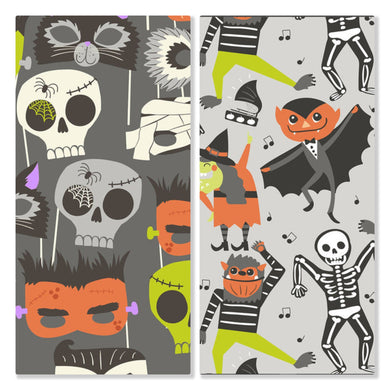 Monster Mash - Pre-Designed Full Reversible Bandana