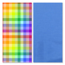 Load image into Gallery viewer, Prideful Plaid - Pre-Designed Full Reversible Bandana
