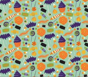 Spooky Treats - Bandana Half (Must Purchase Any Two Patterns)