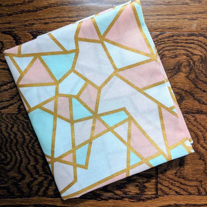 Golden Stainglass - Bandana Half (Must Purchase Any Two Patterns)