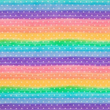 Load image into Gallery viewer, Prismatic Rainbow - Bandana Half (Must Purchase Any Two Patterns)