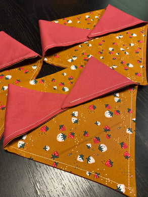 Berry Berry - Pre-Designed Full Reversible Bandana