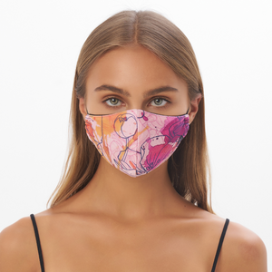 """In Bloom"" Sustainable Face Mask"