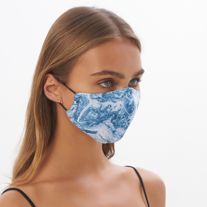 """Lost It"" Sustainable Face Mask"