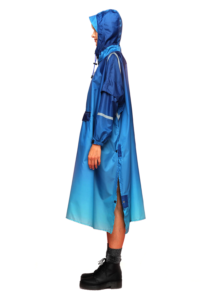 """Atlantis"" Eco-Friendly Rain Poncho - 365Dry"