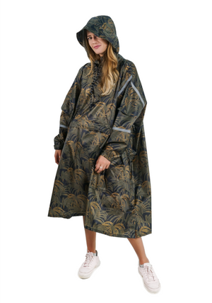 """Bambu Indah"" Eco-Friendly Rain Poncho - 365Dry"