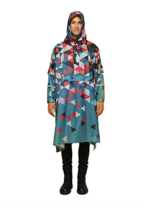 """Double Dutch"" Eco-Friendly Rain Poncho - 365Dry"