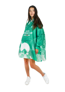 Ireland Official Rugby World Cup 2019 Eco-Friendly Unisex Rain Poncho - 365Dry