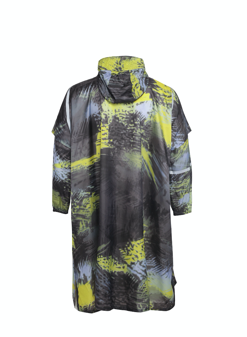 """Karma Kamo"" Eco-Friendly Rain Poncho"