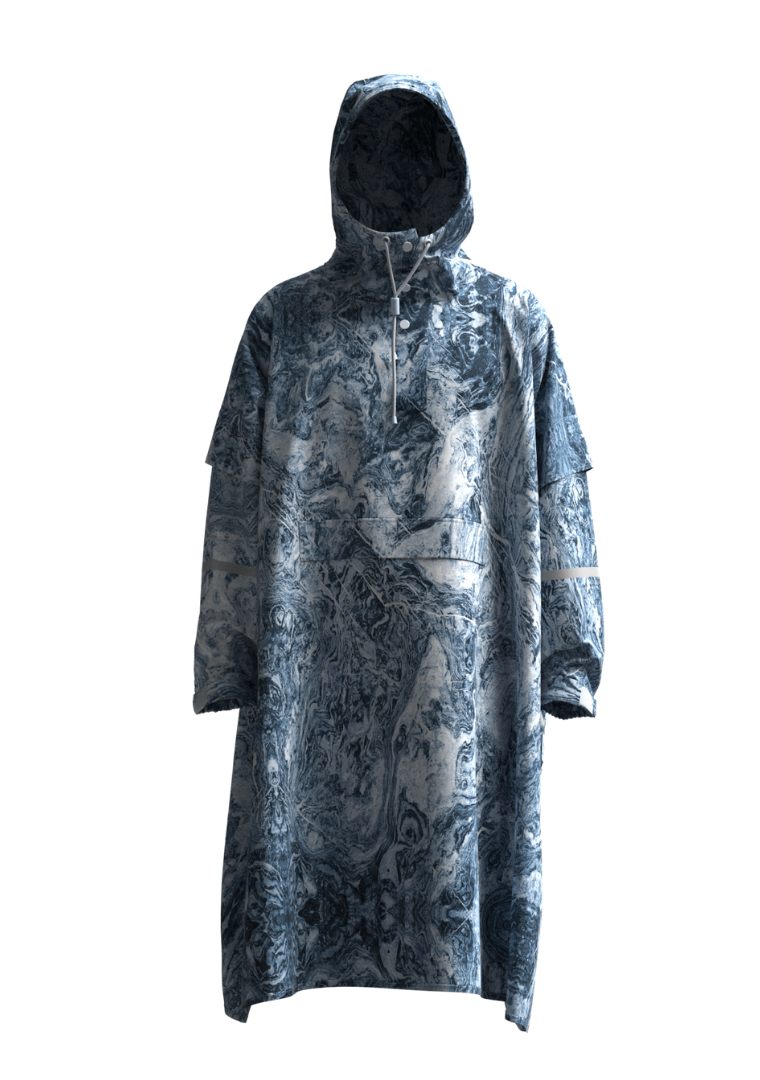 """Lost It"" Eco-Friendly Rain Poncho"