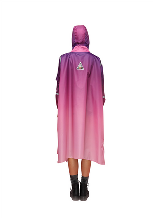 """Northern Lights"" Eco-Friendly Rain Poncho - 365Dry"