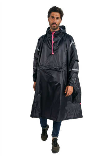 Neo Assassin Eco-Friendly Unisex Rain Poncho - 365Dry