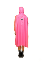 "Load image into Gallery viewer, ""Jaipur Pink"" Eco-Friendly Rain Poncho - 365Dry"