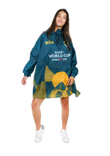 Load image into Gallery viewer, South Africa Official Rugby World Cup 2019 Eco-Friendly Unisex Rain Poncho - 365Dry