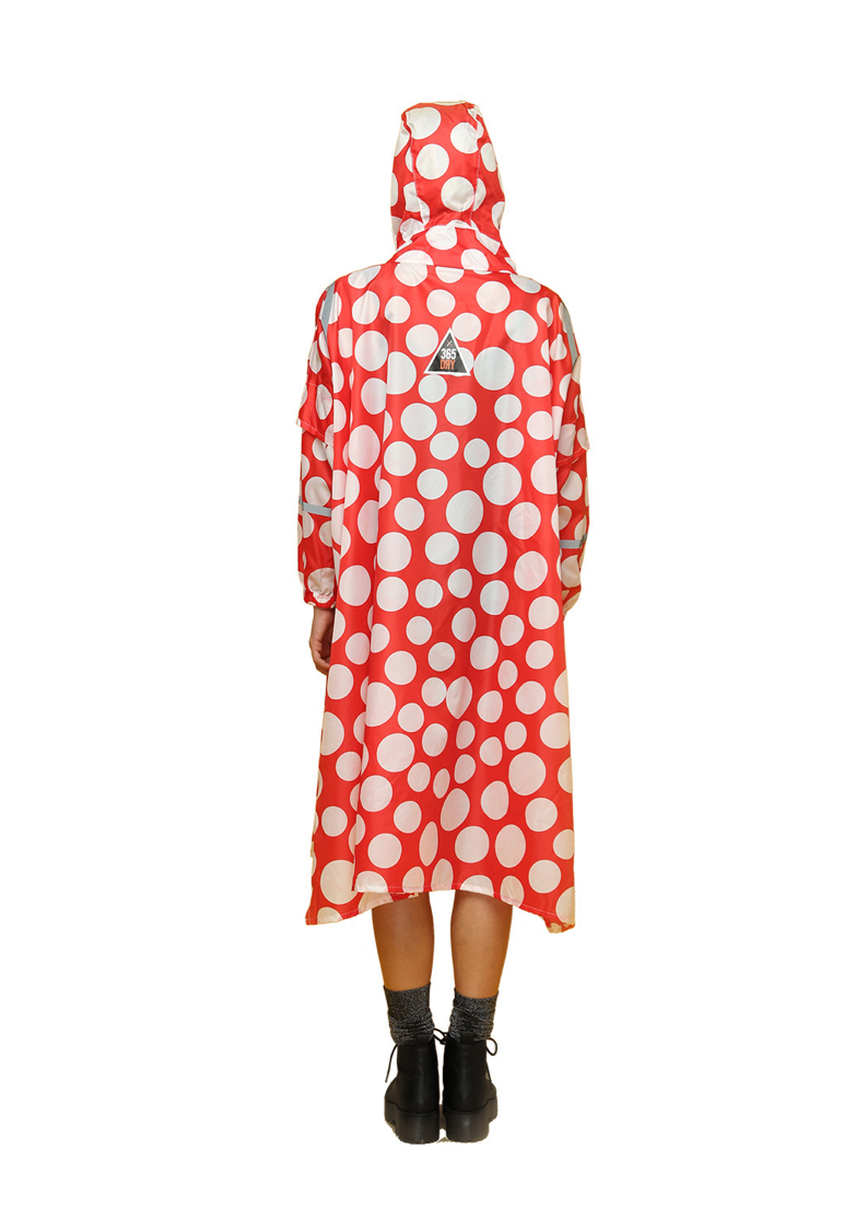 """Stockholm Syndrome"" Eco-Friendly Rain Poncho - 365Dry"
