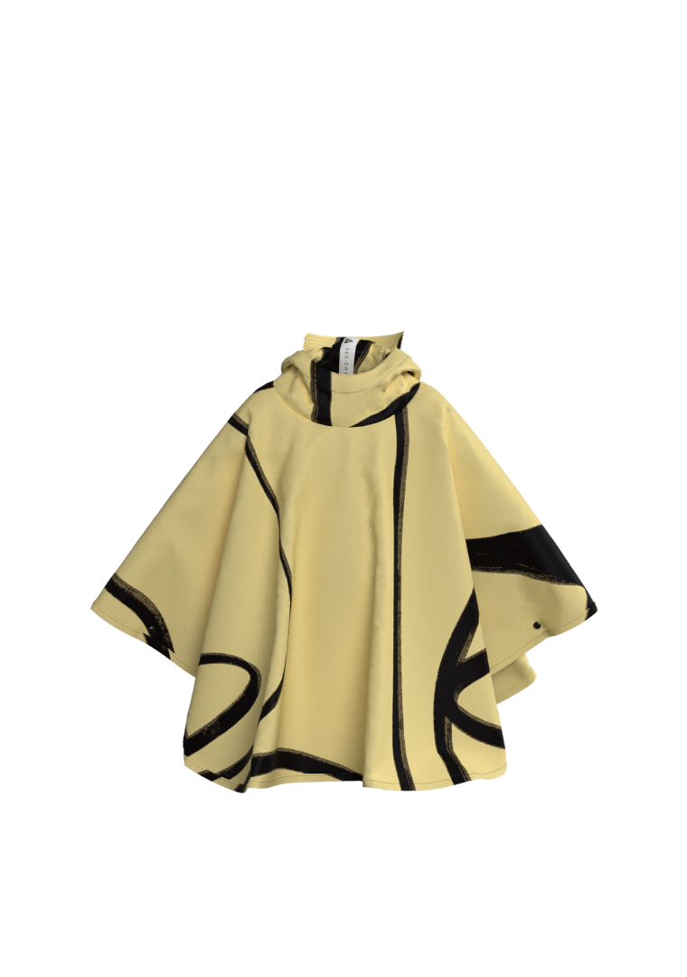 365DRY X KOKETIT: 'The Conspicuous'. The Mini-Me Eco-Friendly Rain Poncho