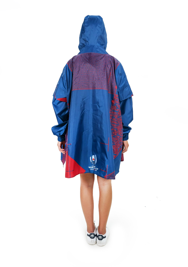 USA Official Rugby World Cup 2019 Eco-Friendly Unisex Rain Poncho - 365Dry