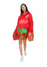 Load image into Gallery viewer, Wales Official Rugby World Cup 2019 Eco-Friendly Unisex Rain Poncho - 365Dry